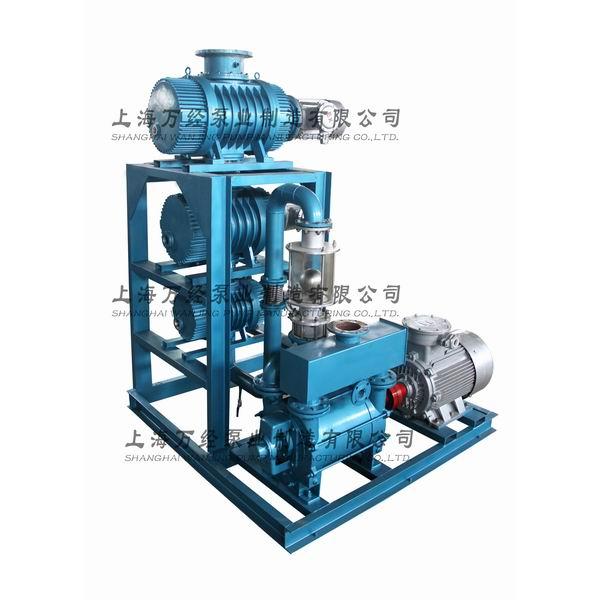 JZJ2BE型水环罗茨真空泵机组